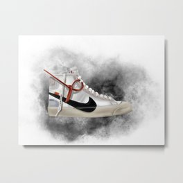 OFF WHITE BLAZER Metal Print