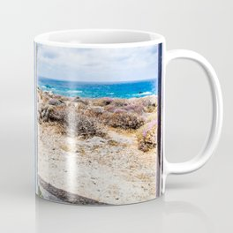 Elafonisi Blue Door - Crete, Greece Coffee Mug