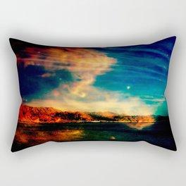 Red Rock South Rectangular Pillow