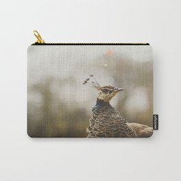 Little Miss Peahen Carry-All Pouch