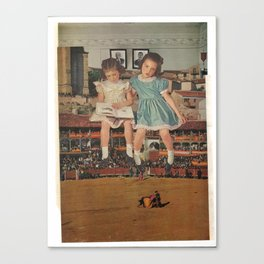 Girls day at the Russian Bullfight Canvas Print