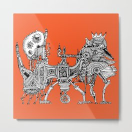 Brewerpoddle Metal Print