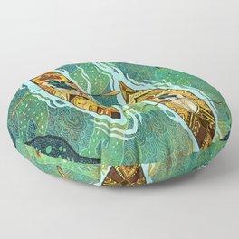 Kayaking Floor Pillow