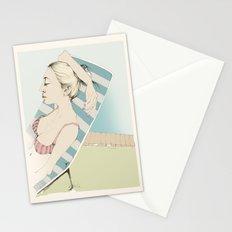 Sunbathing Stationery Cards