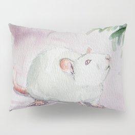 Mistletoe rat Pillow Sham