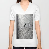 salt water V-neck T-shirts featuring Salt by Inaereaedificare