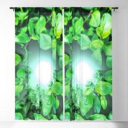 Dissolving nature Blackout Curtain