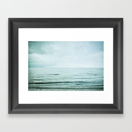 distance I Framed Art Print