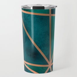 Copper & Emerald Geo Travel Mug