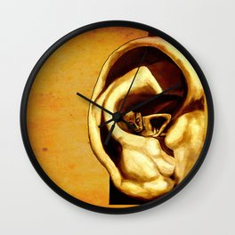 The abandonment of the blithering idiot - Tolle quote Wall Clock