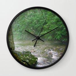 Davidson River Wall Clock