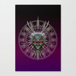 Face of the Demon King .. fantasy art Canvas Print