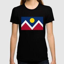 Denver, Colorado City Flag T-shirt