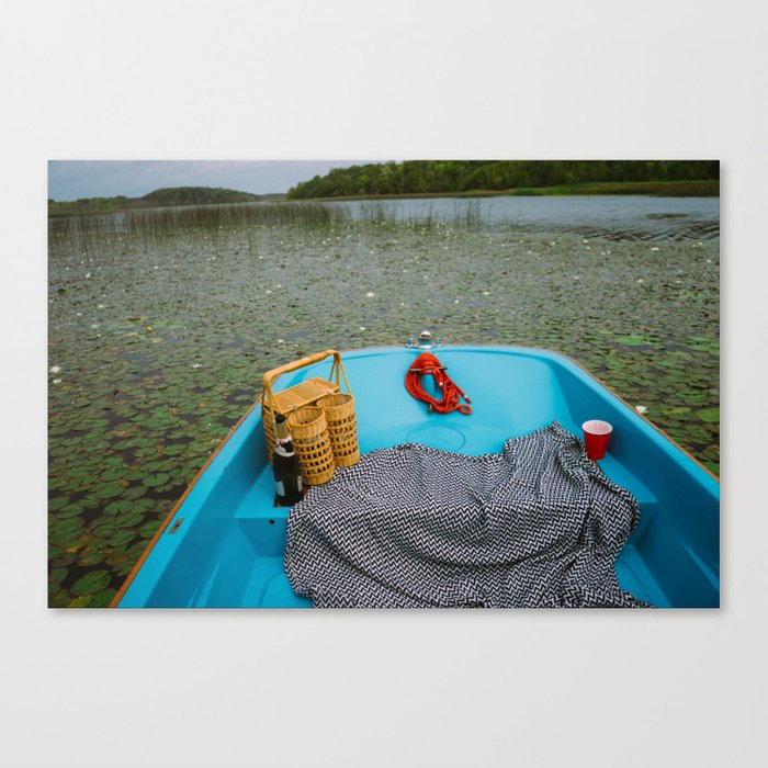 Lily Pad Picnic Canvas Print