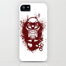Clown Jack iPhone Case