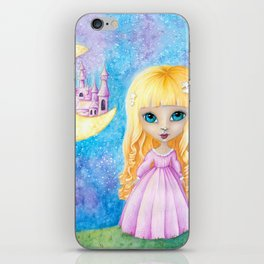 Castle Dreams Girl iPhone Skin