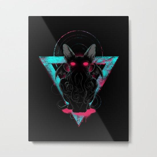 Cathulhu Metal Print