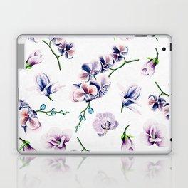 Lavender Blossom Floral Pattern Laptop & iPad Skin