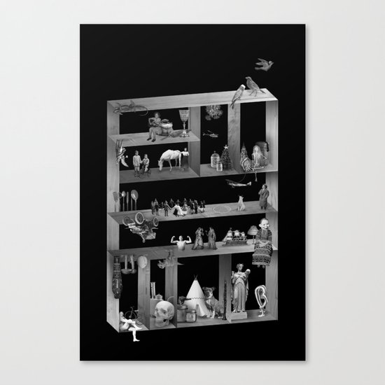 Cabinet Canvas Print