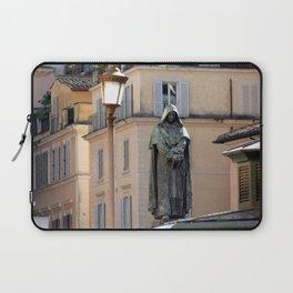 Giordano Bruno Monument, Rome, Italy Laptop Sleeve