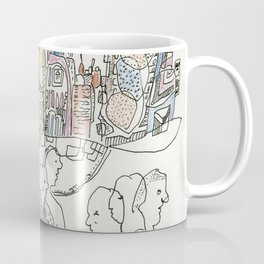 NYC buildings Coffee Mug