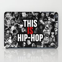hip hop iPad Cases featuring This is Hip Hop by TeamFleet Designs