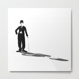 Chaplin, of course Metal Print