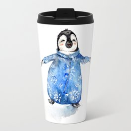 Baby Penguin in Onsie Travel Mug