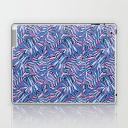 Wild Jungle in Violet Blue Laptop & iPad Skin