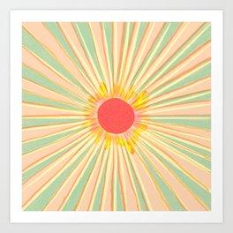 Sun In The Sky 3 Art Print
