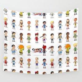Super Street Fighter II Turbo Wall Tapestry