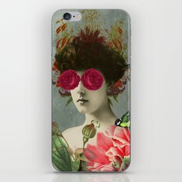 the only girl i ever loved was born with roses in her eyes. iPhone Skin
