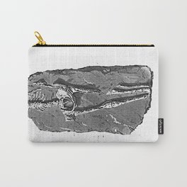 Fossil. Human Skeleton. Found in Guadaloupe Carry-All Pouch