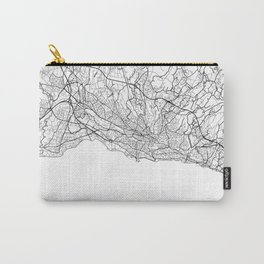 Lausanne Map White Carry-All Pouch