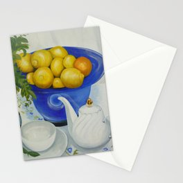 Lemon Tea Stationery Cards
