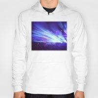 concert Hoodies featuring Concert Lights by Tyler Shaffer