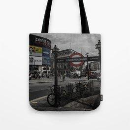 Piccadilly Circus London Tote Bag