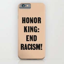 Honor King iPhone Case