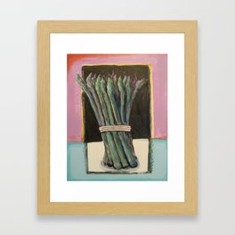 Asaparagus Bound Framed Art Print