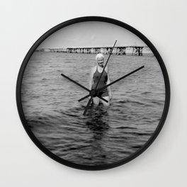 Die Meeresstille Wall Clock