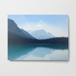 Afternoon on Emerald Lake Metal Print