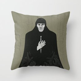 Andrei Rublev (cyrillic) Throw Pillow