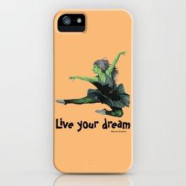 Goblin Ballerina Ballet Dancing Fantasy Art iPhone Case