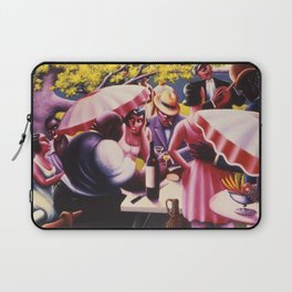 African-American 1926 Classical Masterpiece 'The Picnic' by Archibald Motley Laptop Sleeve