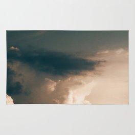 Golden Dusk Sky (Color) Rug
