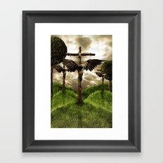 Resurrection Failed Framed Art Print