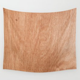 Abstract pastel brown rustic wood texture Wall Tapestry
