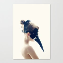 Bird Girl Canvas Print