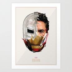 Iron M Art Print