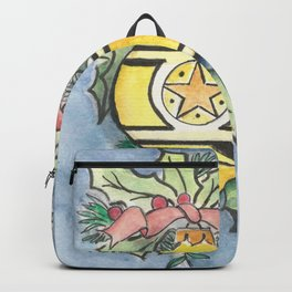 Evergreens and Gold Backpack